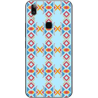 PEEPAL Vivo V9 Pro Designer & Printed Case Cover 3D Printing Art Multi Colour Design