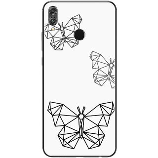 PEEPAL Honor 8x Designer & Printed Case Cover 3D Printing Butterfly Design