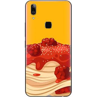 PEEPAL Vivo V9 Pro Designer & Printed Case Cover 3D Printing Cake Design