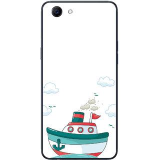 PEEPAL Oppo Realme 1 Designer & Printed Case Cover 3D Printing Sailing Design
