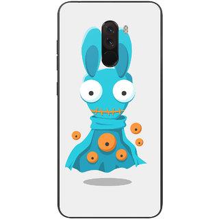 PEEPAL Xiaomi Poco F1 Designer & Printed Case Cover 3D Printing Cartoon Design