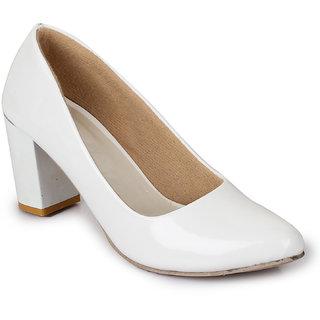 Sapatos Women White  Heels