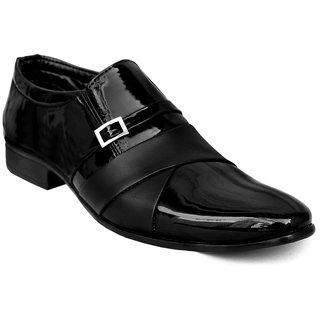 Biggfoot Men Black Lace up Formal Shoe