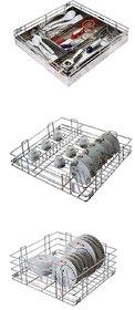 Rwood modular kitchen basket ,Size 17x20 inch  ( set of 3 pcs ) kitchen drawer - kitchen storage basket