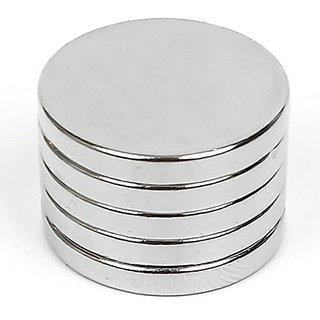 Techamazon Strong Neodymium Rare Earth Disc Magnet 12mmx 3mm Thk. -10 Pcs