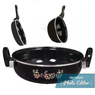 Milton 3 PCS Hard Coat Induction Cookware Set