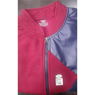 Men's Collar Zipper Polo Jacket