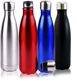 Grabmygifts - Stainless Steel Hot n Cold Bottle - 500ml (BPA FREE) Vacumm Flask
