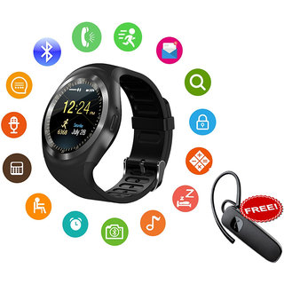 Y1 Smart Watch support Nano SIM Card and TF Card...