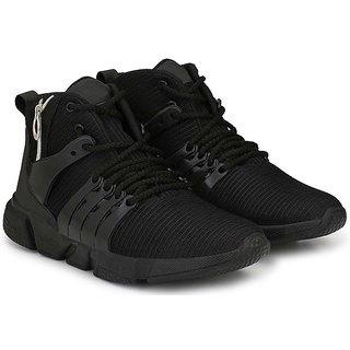 Buy Shoeson Men's Black Running Shoes
