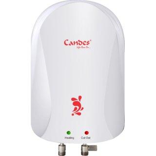 Candes 3 L New Design Instant Water Geyser (Ivory)