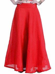 TNQ Raw Silk Skirt /Women's Chanderi Maxi Skirt / Long Silk Skirt / Long Skirt / Silk Skirt
