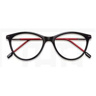 1696586d97 Buy MagJons Black Full rim round Spectacle Eye Wear Frame For girls Women  (super slim) Online - Get 72% Off
