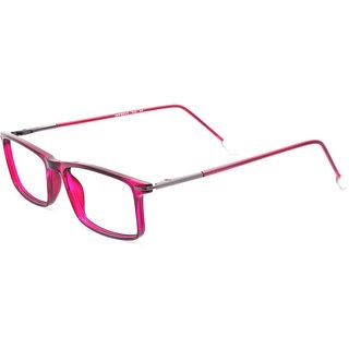 d63d6f182bd Buy MagJons Pink Fullrim Rectangular Spectacle Eye Wear Frame For Women  Girls Online - Get 72% Off