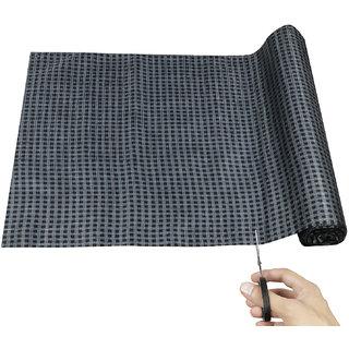 ARADENT Multipurpose Anti Slip Washable Shelf Linen for Cabinets, Kithen Shelves etc(Roll Size 10 mtr)