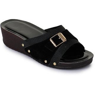 Fashtyle Women Black Heel