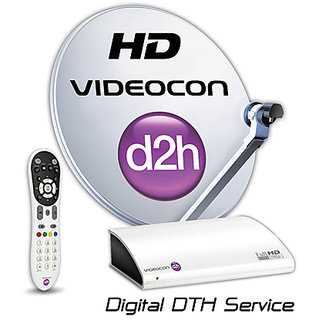 Videocon D2h SD connection One Month New Gold Sports Pack