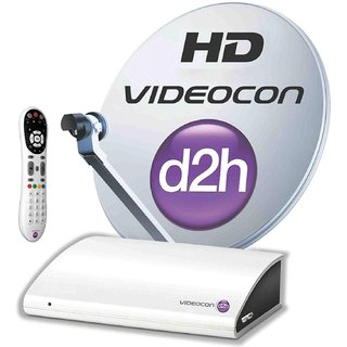 Videocon D2h HD connection with one month Super Gold Pack