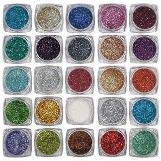 Beauty Queen 25 Multicolor Eyeshadow Glitter