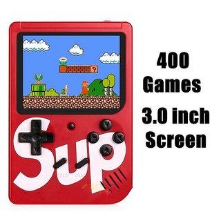 SUP 400 in 1 Games Retro Game Box Console Handheld Game PAD Gamebox - Random Colour