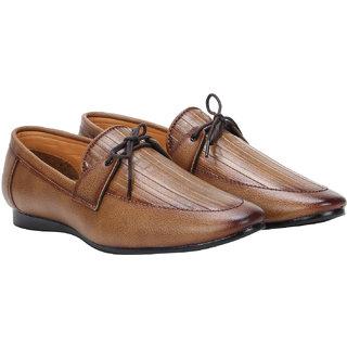 Rimoni Men's Tan Loafers