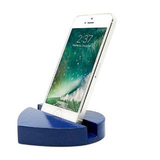 Heart Design Mobile Phone Stand / Holder For Smartphone (Blue)