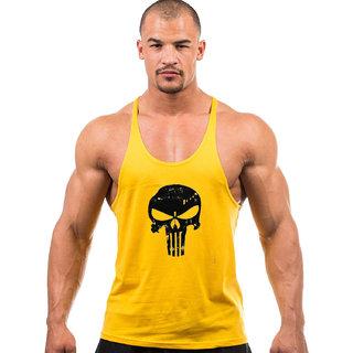 The Blazze Men's Gym Vest Muscle Tee Tank Top Gym Tank Stringer