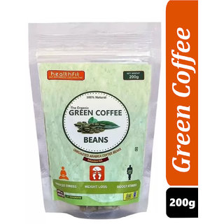 Healthfit Organic Green Coffee Beans for Weight Loss 200g