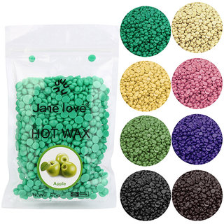 Random colour Jane love 50g Hard Wax Beans For Body Bikini Hair Removal Depilatory Wax Beans Hot Film Wax Summer