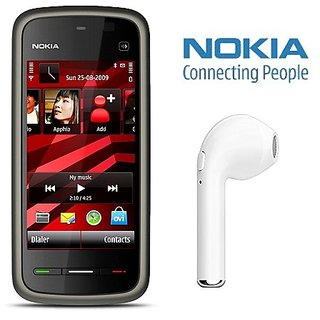 Nokia 5233 / Good Condition/ Certified Pre Owned (6 months Warranty) with HBQ Bluetooth