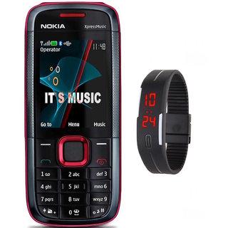 Nokia 5130 /Good Condition/Certified Pre Owned  (1 Year WarrantyBazaar Warranty) With Free Digital Watch.