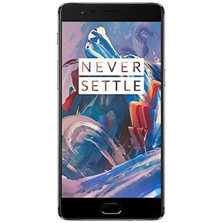 Refurbished OnePlus 3 Quad Core A3000 Graphite 64GB Storage 6GB RAM 4G LTE