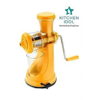 Kitchen Idol Elegant Fruit Juicer - Yellow