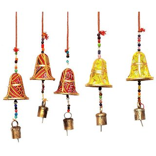 BHG Handmade Rajasthani Hanging Door for Home Decor - Pack of 5