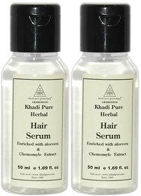 Khadi Pure Herbal Hair Serum - 50ml (Set of 2)