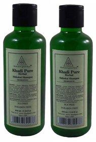 KHADI HERBAL SHIKAKAI HERBAL SHAMPOO GRAMODYOG SLS FREE PARABEN FREE 2 SHAMPOO