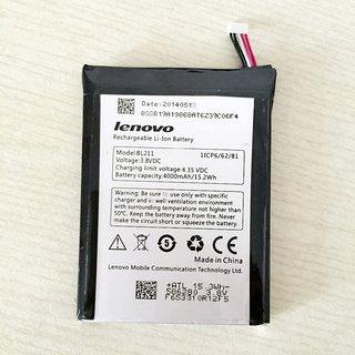 100ORIGINAL LENOVO BL211 BATTERY FOR LENOVO P780 4000mAh