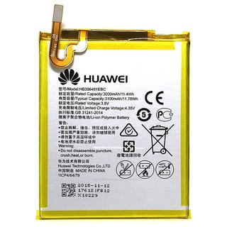 Huawei Honor 6 LTE/Honor 5X Li Ion Polymer Internal Replacement Battery HB396481EBC 3000mAH