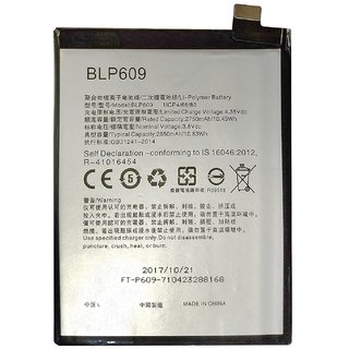 Oppo F1 Plus Li Ion Polymer Replacement Battery BLP-609 2750mAH by Snaptic