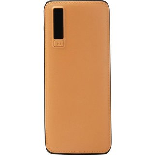 Orenics Ajay Leather Fast Charge 20000 Mah Power Bank (Brown)