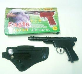 jain eagle double spring powerful air gun free 200 pellets 1 cover