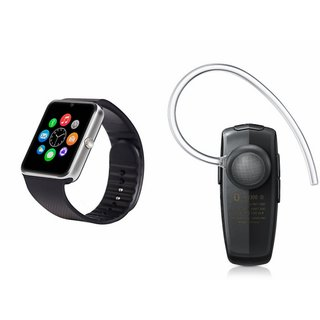 YSB GT08 Smart Watch And Bluetooth Headset (HM1100 Headset) for HTC ONE E9+ DUAL SIM