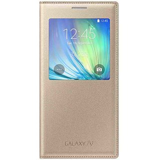 Samsung Galaxy A7 2016 Leather S view  Window Flip Cover