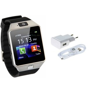 MIRZA DZ09 Smart Watch  Mobile Charger for XOLO ERA 4G