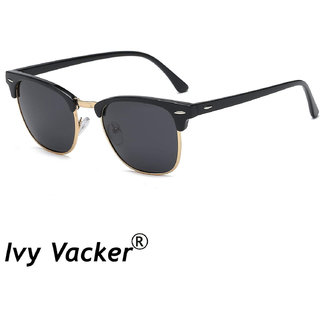 Ivy Vacker Gold black club-master sunglass for boys
