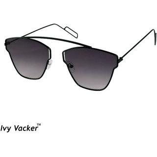 b0432021052ad Buy Ivy Vacker Grey Square Aviator Sunglass Online - Get 91% Off