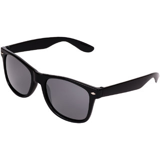Ivy Vacker Black UV Protection Full Rim Wayfarer Sunglasses For Men