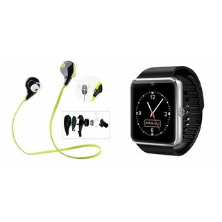 YSB GT08 Smart Watch And Bluetooth Headset (Jogger Headset) for Oppo F1