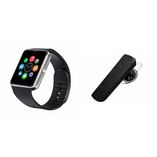 YSB GT08 Smart Watch And Bluetooth Headset (HM1100 Headset) for VIVO v1