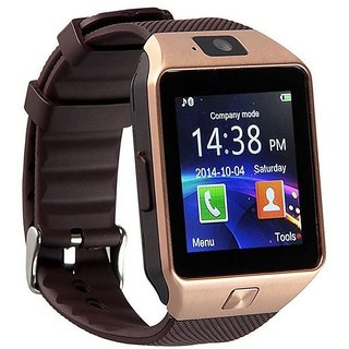 Bingo T30 Gold With Sim and Memory Slot For Android and IOS System Bluetooth Smartwatch